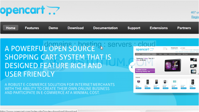 How to download and install OpenCart