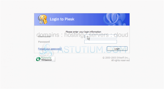 How to login to Plesk as a Mail User